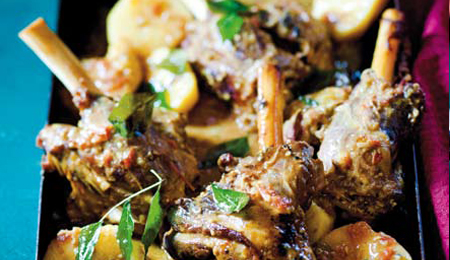 Lamb Shanks with Artichokes and Mushrooms Recipe