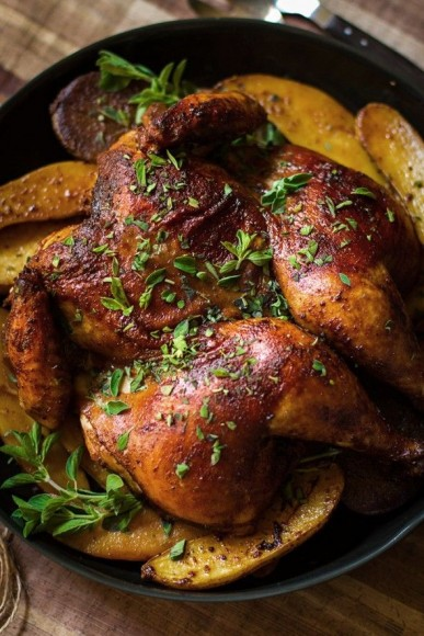 Roast Chicken Five Ways If memory serves, Roast Chicken was one Julia Child's favorite dishes, and it is mine too!
