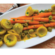 levana-cooks-Artichokes-and-Carrots-in-Lemon-Sauce