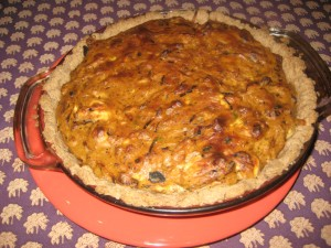 Onion-goat-cheese-tart