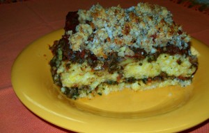 polenta-casserole