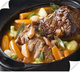 My recipe for Pot Au Feu is included in my first cookbook, Levana's ...