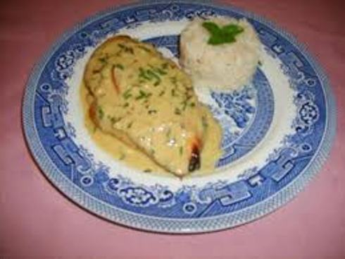 Tilapia tehina sauce