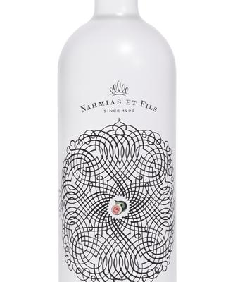 Mahia (Eau de Vie) Nahmias et Fils. Drink - and Eat - to Your Health!