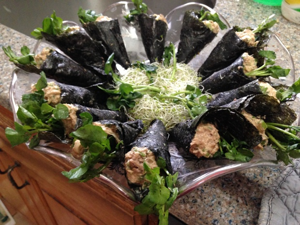 Sardines Spread (Rillettes) Recipe. Hand Roll Variation - Levana Cooks