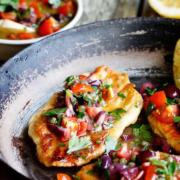 Tilapia With Fresh Tomatoes and Lemons Recipe. Vegetarian and Other Variations