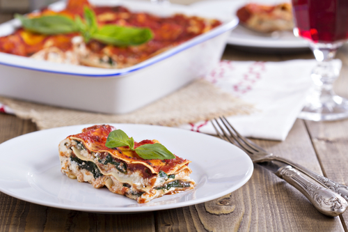 Spinach Lasagna Recipe. Gluten-Free and Low Carb Variations - Levana ...