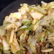 Apple Cabbage Fennel Compote Recipe