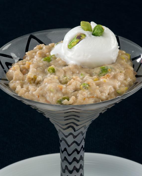 noodle almond pudding