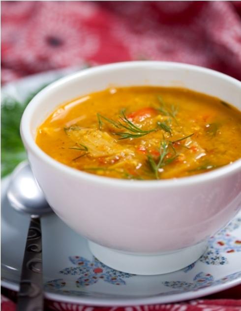 Moroccan fish soup recipe levana cooks for Moroccan fish recipe