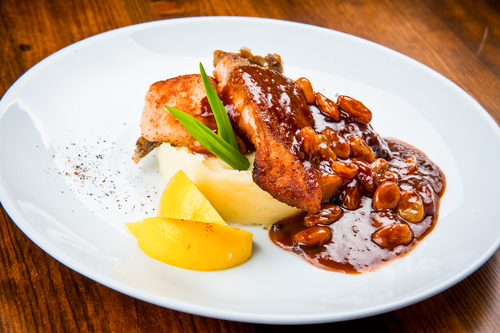 Sweet and sour sauce fish for Fish fillet sauce