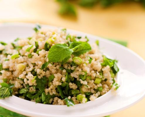 Minted Tabouleh Recipe. Passover-Friendly