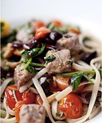 Linguini Puttanesca