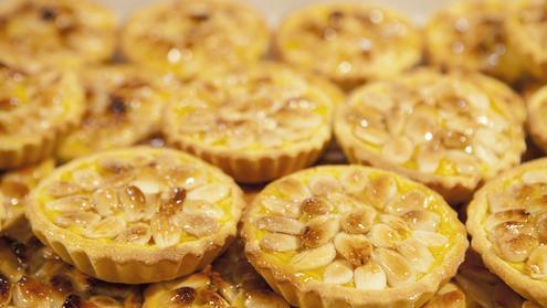 ricotta almond pie