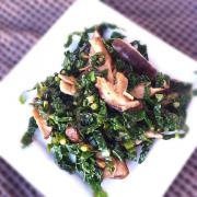 stir-fried kale