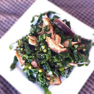 stir-fried kale