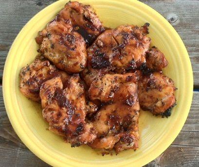 Dry spice rub chicken