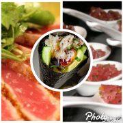Trio of tuna