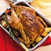 Dry Spice-Rub Roast Turkey Recipe