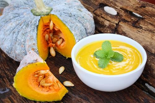 Sweet Potato Kabocha Soup Recipe - Levana Cooks