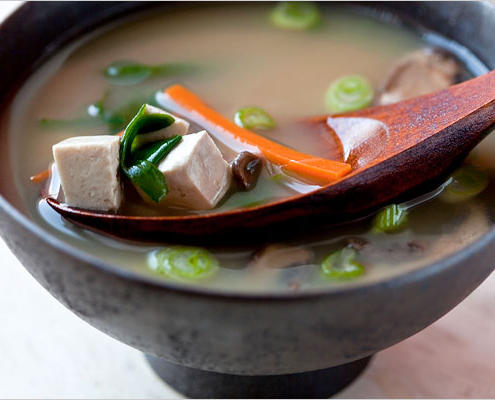 Miso Soup with All the Fixin's Recipe