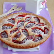 Plum Tart Recipe. Apple Tart Variation