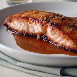 chutney roasted salmon