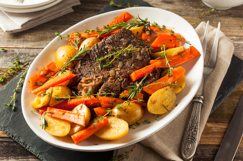 Crockpot Pot Au Feu Recipe - Levana Cooks