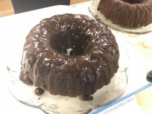 mocca oatmeal cake