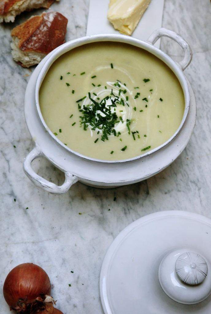 Vichyssoise Recipe. My Version of Julia Child's - Levana Cooks
