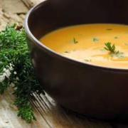 Moroccan Butternut Squash Chick Pea Soup