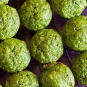 Kale Apple Muffins