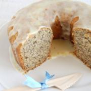 Banana Coconut Poppy Seed Cake Recipe. Gluten-Free Adaptation included.