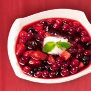 Cold Fruit Soup Recipe. Gluten-Free