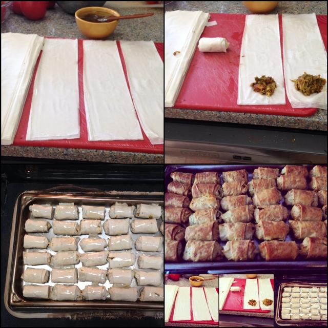 Moroccan-Almond-Fillo-Pastries-Levana-Cooks