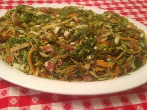 fresh seaweed noodles