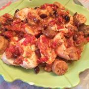 chicken tomatoes