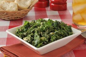 Crab kale salad