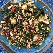 cauliflower brussels sprouts salad