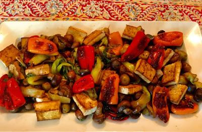 Vegetable Tofu Stir Fry
