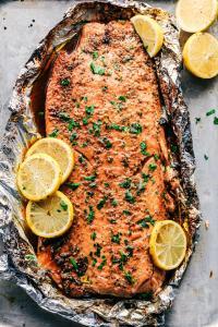 salmon tajine