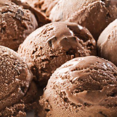 Chocolate Chickpea Ice Cream